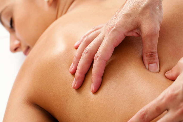 Heilmassage und Massage